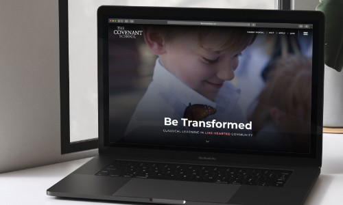 The Covenant School Launches New Website